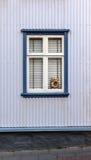 Vintage windows - Scandinavia Royalty Free Stock Images