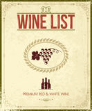 Vintage wine background Royalty Free Stock Image