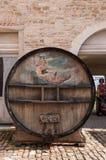 Vintage Wine Barrel Stock Image