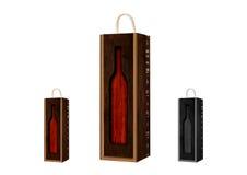 Vintage wine box Royalty Free Stock Image