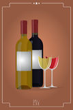 Vintage wine Stock Images