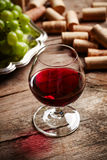 Vintage wine still life Stock Photo