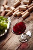 Vintage wine still life Stock Photography