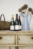 Vintage Wine Tasting Stock Photo