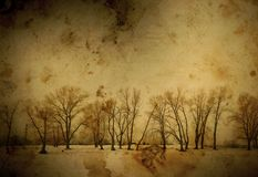 Vintage winter Stock Photography