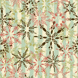 Vintage winter background Royalty Free Stock Images
