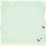 Vintage winter background Stock Photography