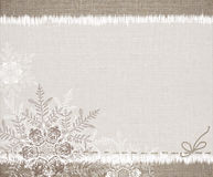 Vintage winter backgrounds Stock Image