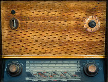 Vintage wireless radio background Royalty Free Stock Image