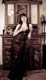Vintage woman Royalty Free Stock Photo