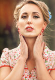 Vintage Woman Royalty Free Stock Photo
