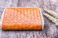 Vintage woman wallet Royalty Free Stock Photography