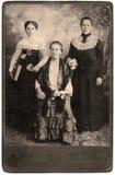 Vintage Women Portrait Royalty Free Stock Image