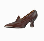 Vintage women shoe Royalty Free Stock Image