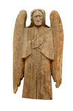 Vintage wood angel Stock Photography