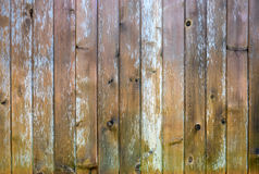Vintage wood background. Vintage wood planks background pattern with traces of paint Royalty Free Stock Images