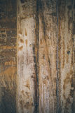 Vintage wood background. Rough wood texture and background for designers. Close up view of abstract wood texture. Old vintage wood. En background Stock Photos