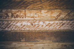 Vintage wood background. Rough wood texture and background for designers. Close up view of abstract wood texture. Old vintage wood. En background Stock Photography