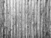 Vintage wood background texture. Black and white Stock Photography