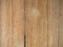 Vintage wood of background texture with knots and nail holes.  royalty free stock photo