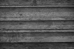 Vintage wood backgrounds textures. Black and white Stock Image