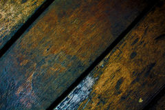 Vintage wood boards closeup. Rough lumber surface Royalty Free Stock Photography