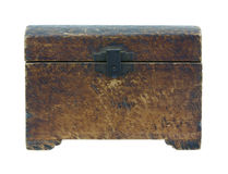 Vintage wood box Royalty Free Stock Photography