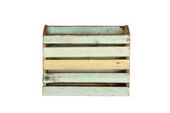 Vintage wood box Stock Images