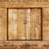 Vintage wood box Royalty Free Stock Image