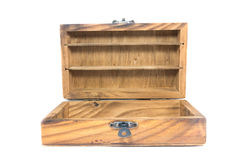 Vintage wood box Stock Image