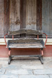 Vintage Wood Chair Stock Images