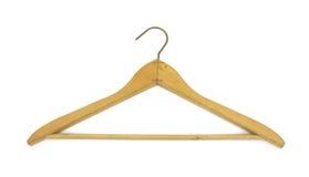 Vintage wood coat hanger Stock Photos