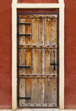 Vintage wood door Stock Images