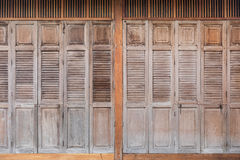 Vintage wood door Royalty Free Stock Photo