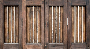 Vintage wood door Stock Photos