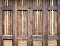Vintage wood door Stock Photography