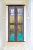 Vintage wood door Stock Images