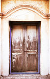 Vintage wood door Stock Photo