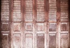 Vintage wood door Royalty Free Stock Photos
