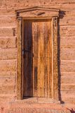 Vintage Wood Door Royalty Free Stock Photography