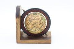 Vintage Wood Globe Earth Royalty Free Stock Image