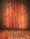 Vintage wood house interior, grunge background Stock Photo