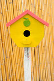 Vintage wood little of birdhouse. Stock Photos