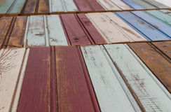 Vintage Wood Mouldings Stock Photography