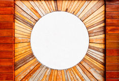 Vintage Wood Pattern Texture And Circle Marble Stock Photos