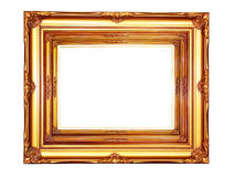 Vintage wood photo frame Royalty Free Stock Photos