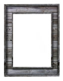 Vintage wood picture frame Royalty Free Stock Photography