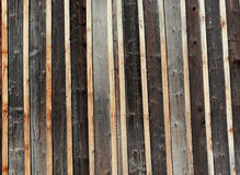 Vintage Wood Planks background texture. Old painted  wood grunge planks  background texture with  different shades of brown  and grey Royalty Free Stock Images