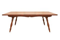 Vintage wood table Stock Photos