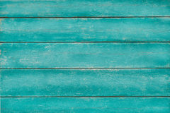 Vintage wood turquoise green background Stock Images
